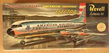 Vintage Revell American Airlines Lockheed Turboprop Electra BOX ONLY