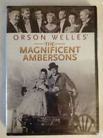 The Magnificent Ambersons. Orson Welles (DVD, 2012)FACTORY SEALED /NTSC/Region 1