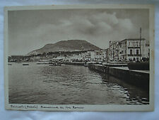 Cartolina Pozzuoli (Napoli) Banchina di Via Roma non viaggiata anni '40