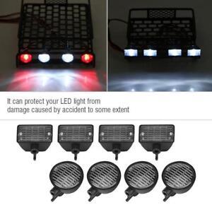 RC LED Light Cover for HSP REDCAT AXAIL scx10 RC Model Crawler LED Light Kit F