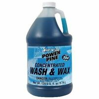 Star Brite Power Pine Boat Wash and Wax 1 Gallon Biodegradable 94700N MD