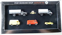 Set VW Mercedes PKW LKW Post Museums Shop PMS Wiking 66-06 1:87 H0 OVP [I10-A4]
