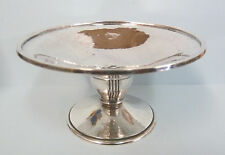 LIBERTY & Co. ARTS & CRAFTS Solid SILVER Dish or Tazza. Birmingham 1937. 113g