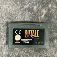Pitfall The Mayan Adventure Nintendo Game Boy Advance GBA Game Cart Only Genuine