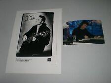 Steve Hackett Genesis signed signiert autograph Autogramm 20x28 Foto in person