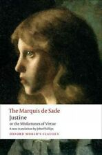 Justine, or the Misfortunes of Virtue, Paperback by Sade, Marquise de; Philli...