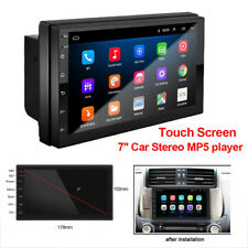 """Android 9.1 Car Stereo Radio GPS MP5 Multimedia Player Bluetooth 7"""" Touch Screen"""