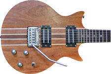 Santander E-Gitarre Neck Through, double Cutaway, massiv Bubinga, coil splitting