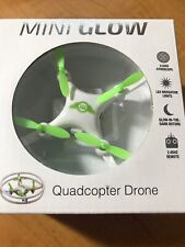 Sky Rider Mini Glow Quadcopter Drone, DR157W New - open Box