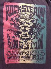 Reggae Rock Steady Kingston World Class Sound System Champ Festival T-Shirt Mens