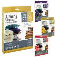 Vacuum Storage Bags Compressed Extra Large Space Saving Organiser Flat Clothing