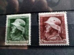 Deutsches Reich, Nr.569 - 570 postfrisch,