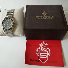 Sandoz Submariner 25 Jewels Automatic Men's Watch W/Day
