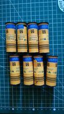 8 kodak Ektachrome : 3x E100+ (EPP) et 5x E100S couleur 120 périmées lomographie
