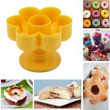 Doughnut Cake Dessert Quincunx Decor Maker Mold Kitchen Tool Cutter Gadget Mould