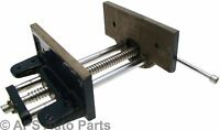 "New 6"" 150mm Wood Working Vice Cast Iron Body Chrome Plated Steel Screw Handle"