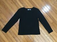Chicos Women's  Black Top Blouse Size 1