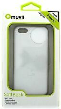 Muvit Soft Back Case Cover for Apple iPhone 5C in White Color