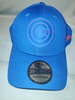 CHICAGO CUBS NEW ERA 39 THIRTY BLUE MEDIUM/LARGE STRETCH FIT MENS HAT CLUBHOUSE