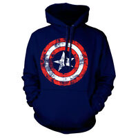 Official Top Gun Movie Logo Hooded Sweater Hoodie Navy