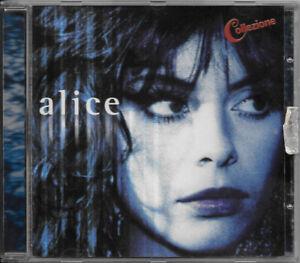 """ALICE CD """"COLLEZIONE"""" (FRANCO BATTIATO) 2001 EMI 5 31628 2  RARO FUORI CATALOGO"""