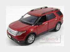 Ford Usa Explorer Xlt 2015 Red Met MotorMax 1:18 MTM73186RM Model