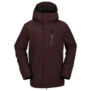 Volcom L Gore-Tex Jacket Black Red - Large