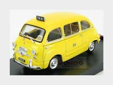 Fiat 600D Multipla Taxi Milano 1970 Yellow BRUMM 1:43 R334B