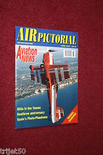 Air Pictorial 1996 June Olley,BWA Viscount,Spain F4,Heathrow,Hawker Tomtit,Macau