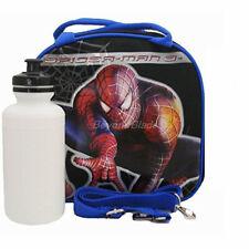 Marvel Spiderman Noir Sac Repas et Sangle Réglable Isolé