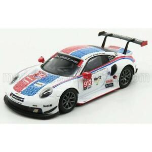 Spark Model Porsche 911 991 Rsr Team Porsche GT N 912 24H Daytona 2019 E.Bamber