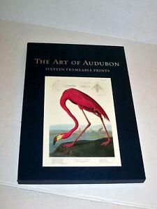 "The Art Of Audubon John James Birds Of America 16 Art Prints 10"" x 15"" NICE!"