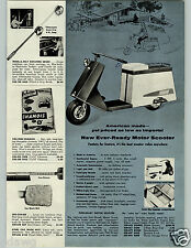 1959 PAPER AD American Made Motor Scooter Ever-Ready 4 HP 4 Cycle $329.95 Retail