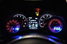 52mm Depo Racing Digital Volt Battery charge gauge White RedWA5291LED