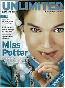 Cineworld Mag 2007 Renee Zellweger   Miss Potter  Dreamgirls  Hannibal Rising