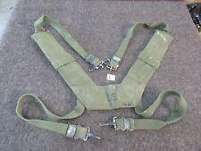 M-1956 Combat Suspenders Vietnam Size LONG RARE Originals (L)
