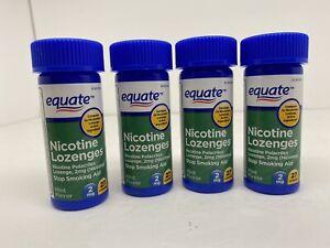 Equate Nicotine Lozenge 2 mg Mint Flavor Lozenge 108-Count EXP 1/2023