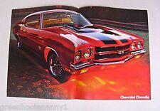 1970 Chevrolet Chevelle Poster Brochure