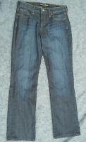 Lucky Brand women Easy Rider Bootcut Jeans Size 6 dark Wash faded wisk distress