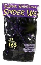 4 Fun World Super Stretch Spider Web, Black