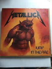 Metallica Jump In The Fire EP UK import Mint Vinyl With  Frame (see Pics)