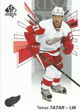 Tomas Tatar #74 - 2016-17 SP Authentic - Base