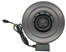 "LUMAGRO 6"" Inline Fan (412 CFM) Hydroponic Duct Exhaust Intake Blower"