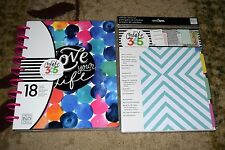 """Create 365 The Happy Planner """"Love Your Life"""" 18 Month & 6 Month Extension"""