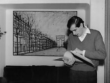 Photo originale Roger Vadim tableau Bernard Buffet