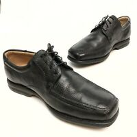 ANATOMIC & CO MENS BLACK SOFT LEATHER,SHEEPSKIN LINED, GEL SHOES SZ 7.5 EU40 EUC