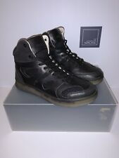 PUMA x ALEXANDER MCQUEEN MOVE MID TRAINERS SHOES - BLACK / BROWN - SIZE UK 8