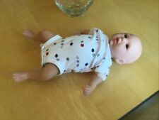 """LIFELIKE BROWN-EYED CAUCASIAN REALISTIC BABY DOLL 19"""" WEIGHTED Deefelle Faga"""