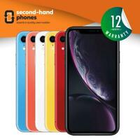 Apple iPhone XR 64GB 128GB 256GB Unlocked Black/Red/Yellow/Blue/Coral/White