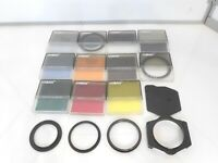 Lot of COKIN A Series FILTERS & Holder and Adaptor Rings 16 Pieces
